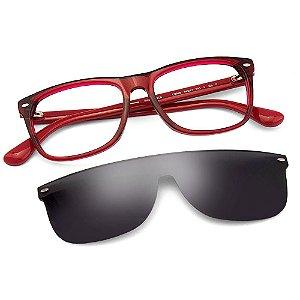Óculos Havaianas Paraty/C/S Vermelho CLIP ON