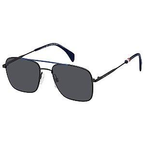 Óculos Tommy Hilfiger 1537/S Preto/Azul