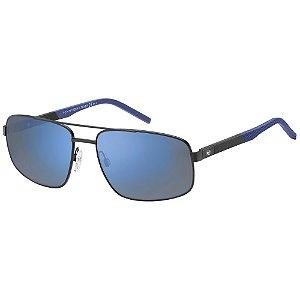 Óculos Tommy Hilfiger 1651/S Preto/Azul