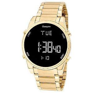 Relógio Champion Feminino Digital Dourado CH40071U