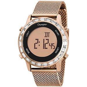 Relógio Champion Feminino Digital Rose CH48117X