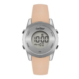 Relógio Condor Feminino  Prata Digital COBJ3279AF5K
