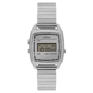 Relógio Condor Feminino  Prata Digital COJH512ABK3K