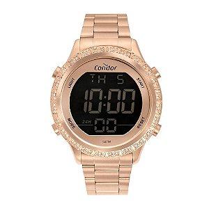 Relógio Condor Feminino  Rose Digital COBJ3463AK4J