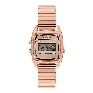 Relógio Condor Feminino  Rose Digital COJH512AG4J