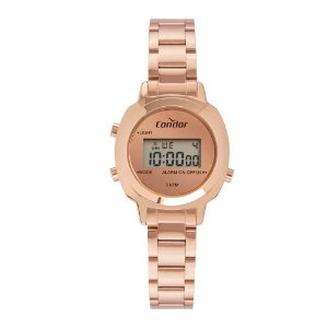 Relógio Condor Feminino  Rose Digital COJH512AJ4J