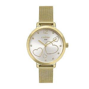 Relógio Condor Feminino Bem Querer Dourado Analógico CO2035MYHK4D