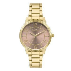 Relógio Condor Feminino Dourado CO2035KRH4M