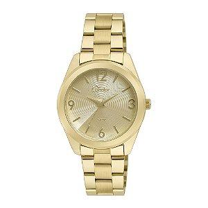 Relógio Condor Feminino Dourado CO2035KSE4D
