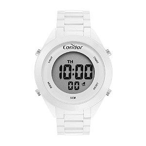 Relógio Condor Feminino Full Colors Branco Digital COAE19432AM4B