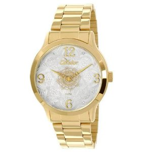 Relógio Condor Feminino Mandala Dourado Analógico CO2036CKK4B