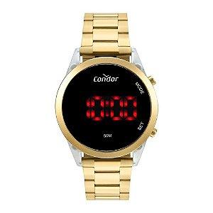 Relógio Condor Feminino Mix Match Dourado Digital COJHS31BAF7D