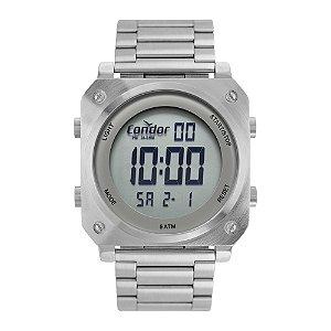 Relógio Condor Masculino  Prata Digital COFO018AA3K