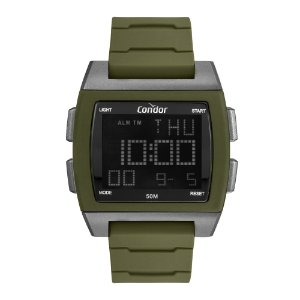 Relógio Condor Masculino  Verde Digital COBJ2649AL6V