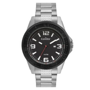 Relógio Condor Masculino Prata CO2115KVP3P