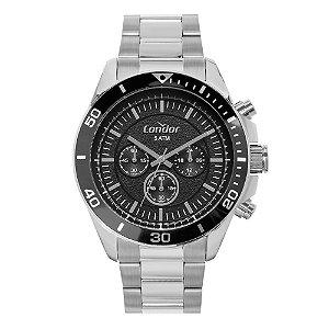 Relógio Condor Masculino Prata COVD54BI3P