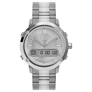 Relógio Euro Feminino  Prata AnaDigital EUBJ3890AC4F