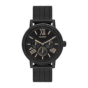 Relógio Euro Feminino  Preto Multifunção EU6P29AHN4P