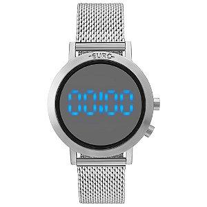 Relógio Euro Feminino Digital Prata EUBJ3407AB3P