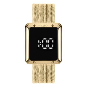 Relógio Euro Feminino Digital Touch Dourado EUBJ3937AA4F