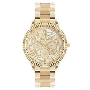 Relógio Euro Feminino Dourado EU6P29AHO4D