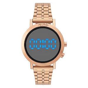 Relógio Euro Feminino Fashion Fit Rose Digital EUBJ3407ACT4P
