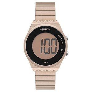 Relógio Euro Feminino Meu Tom Rose Digital EUBJT016AI4J