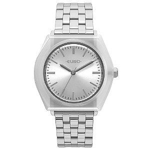 Relógio Euro Feminino Prata EU2035YNA5K