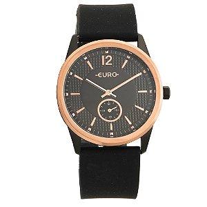 Relógio Euro Feminino Soul Preto Analógico EU1L45ABK8P