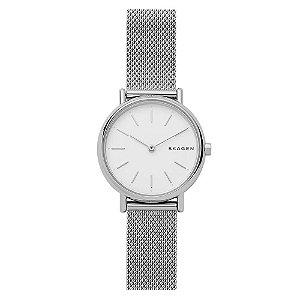 Relógio Skagen Feminino Signatur Prata Analógico SKW26921KN