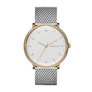 Relógio Skagen Masculino  Prata Analógico SKW61701KN