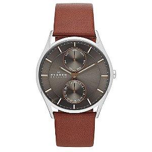 Relógio Skagen Masculino Holst Prata Multifunção SKW60860CN