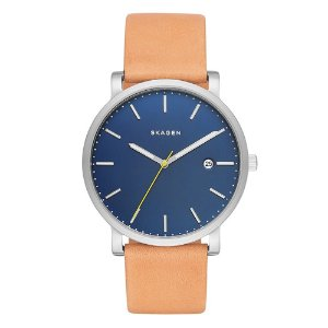 Relógio Skagen Masculino Minimalista Prata Analógico SKW62790AN