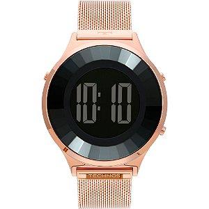 Relógio Technos Feminino  Rose Digital BJ3851AF4P