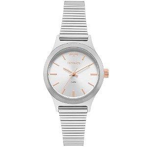 Relógio Technos Feminino Boutique Prata Analógico 2035MMH1K