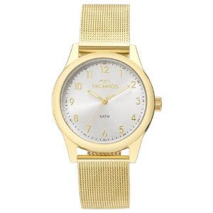 Relógio Technos Feminino Classic Dourado Analógico 2035MKL4K