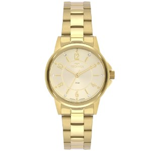 Relógio Technos Feminino Classic Dourado Analógico 2035MTP1X