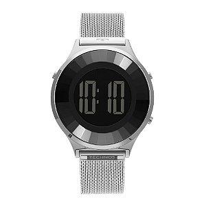 Relógio Technos Feminino Classic Prata Digital BJ3851AG1P