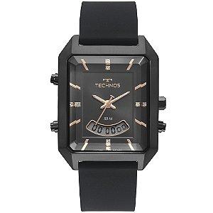Relógio Technos Feminino Classic Preto AnaDigital T200AI2P