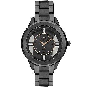 Relógio Technos Feminino Classic Preto Analógico F03101AC4P
