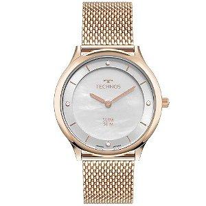 Relógio Technos Feminino Classic Rose Analógico GL20HL1K