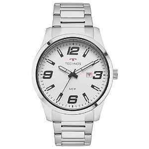 Relógio Technos Masculino  Prata Analógico 2115MOLS1B