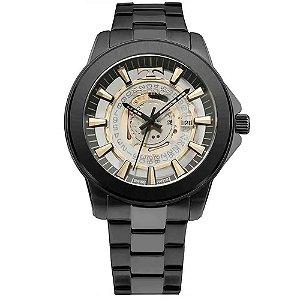Relógio Technos Masculino Essence Preto Analógico F06111AC4W