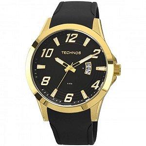 Relógio Technos Masculino Racer Dourado Analógico 2115KQA8P
