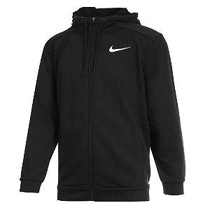 Jaqueta Nike Dry Hoodie Fz Fleece Preto Masculino