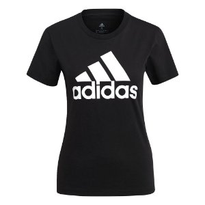 Camiseta Adidas Logo Preto Feminino