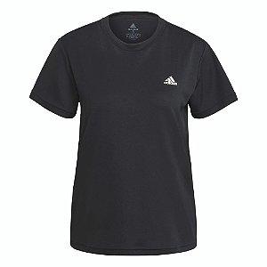 Camiseta Adidas Polyester Sport Preto Feminino