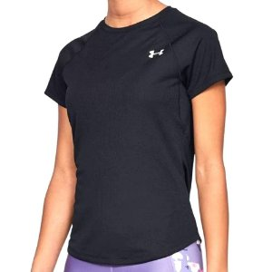 Camiseta Under Armour Speed Stride Preto Feminino
