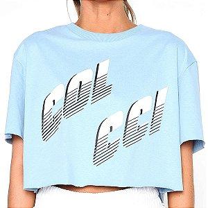 Blusa Colcci Loose Azul Claro Feminino