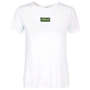 Blusa Colcci New Comfort Branco/Verde Feminino